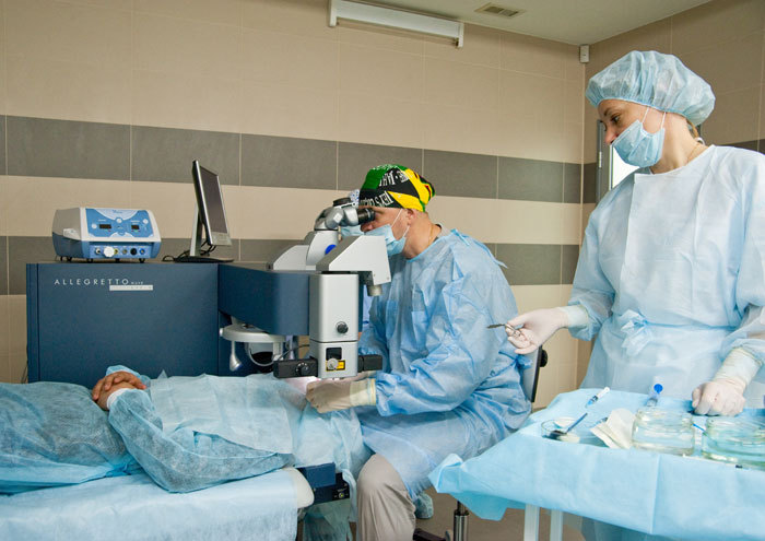 Естественный метод восстановления зрения от близорукости