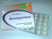"""Комбинированные таблетки """"Аскорутин"""""""