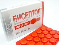 """""""Бисептол"""" в таблетках"""