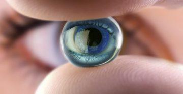 Глаз и пальцы