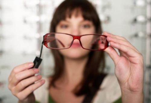 Нечеткое зрение у человека