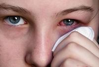 Обработка глаза фурацилином