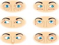 Упражнениям для глаз