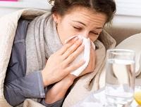 Девушка с гриппом