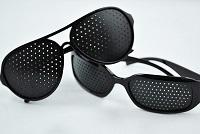 Очки с дырочками (перфорационные очки)