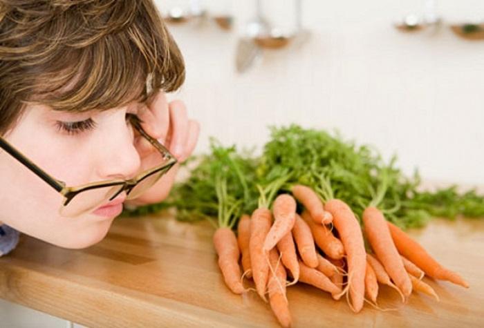Какие продукты повышают зрение у детей